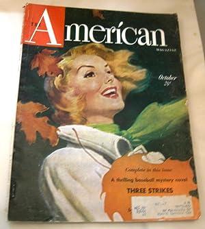 Three Strikes and Dead in American Magazine October 1949: Clark, Phillip