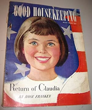Return of Claudia in Good Housekeeping Magazine July 1950: Rose Franken