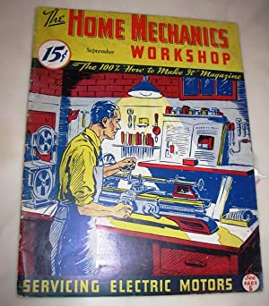 The Home Mechanics Workshop September 1936