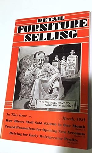 Retail Furniture Selling March, 1931