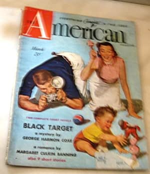 american Magazine March 1951 stories include Black Target by George Harmon Coxe