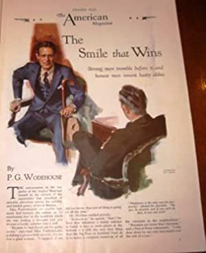 The Smile The Amile That Wins in American Magazine October 31, 1939: P.G. Wodehouse