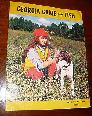 Georgia Game and Fish Hunting Edition 1959