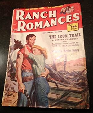 The Iron Trail, Navajo Canyon Part I and other stories in Ranch Romances January 4, 1952: Joseph ...