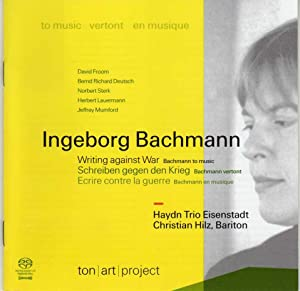 Ingeborg Bachmann - Writing Against War - Bachmann to Music [CD - SACD Music Compact Disc]
