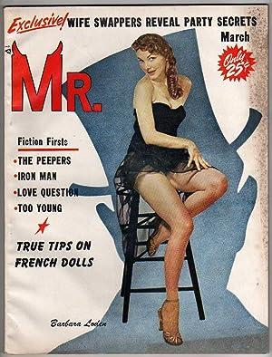 Mr. Magazine (March 1958) Volume 2 No. 4 [VINTAGE MEN'S MAGAZINE - BRIGITTE BARDOT FEATURE]: ...