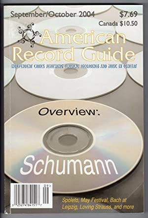 American Record Guide - September/October 2004 -: Donald R. Vroon