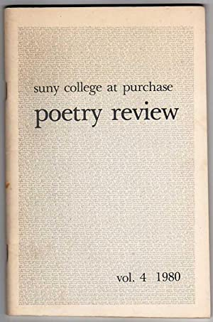 The Purchase Poetry Review, Vol. 4 (1980)