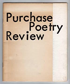 Purchase Poetry Review [de facto Volume 1] (1977)