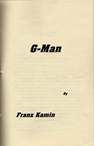 G-Man [handmade chapbook] - SIGNED & INSCRIBED