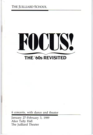 Focus! The '60s Revisited [CONCERT SERIES BOOKLET]