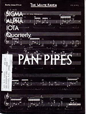 Sigma Alpha Iota - Pan Pipes Quarterly Journal - Winter 1984