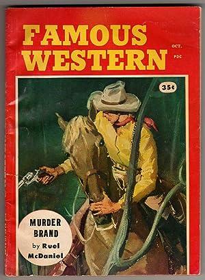 Famous Western - October [Oct.], 1958 -: Cos Barat, Ruel