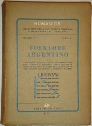 Folklore Argentino: Jose Imbelloni, Bruno