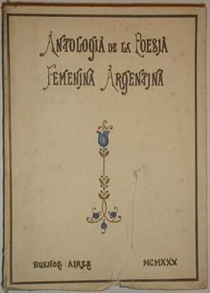 Antologia de la poesia femenina argentina