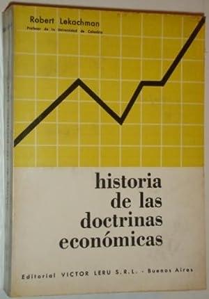 Historia de las doctrinas economicas: Lekachman, Robert