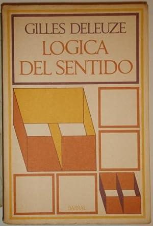 Logica del sentido: Deleuze, Gilles