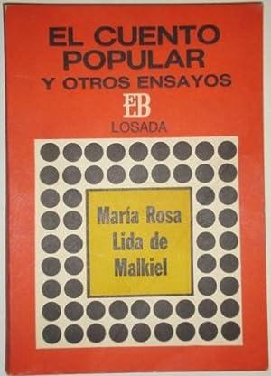 El cuento popular y otros ensayos: Lida de Malkiel, Maria Rosa