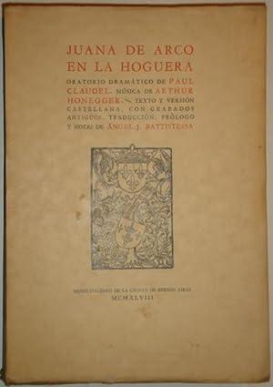 Juana de Arco en la hoguera: Claudel, Paul