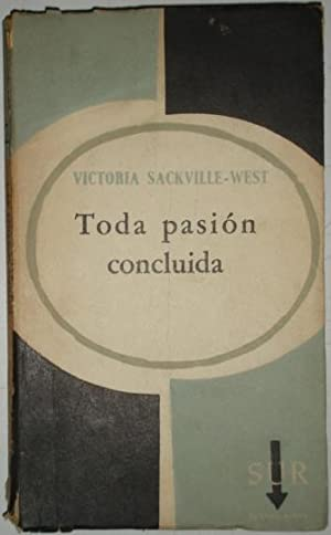 Toda pasion concluida: Sackville-West, Victoria