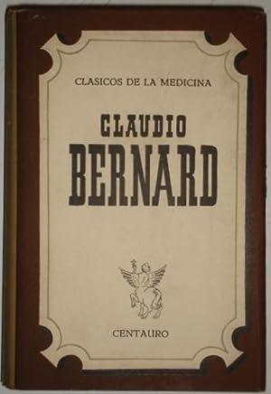 Clasicos de la Medicina. Claudio Bernard