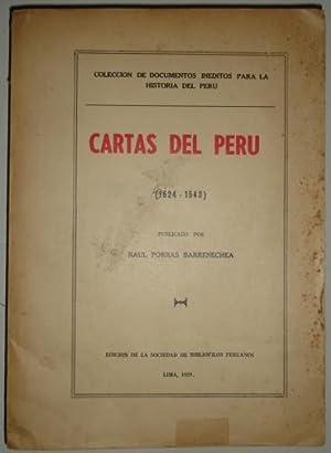 Cartas del Peru (1524-1543): Porras Barrenechea, Raul
