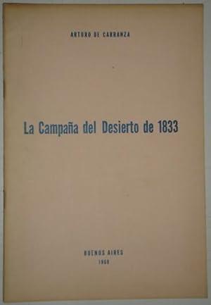 La campaña del desierto de 1833: De Carranza, Arturo