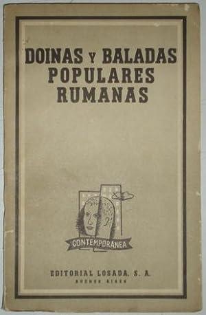 Doinas y baladas populares rumanas