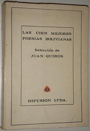 Las cien mejores poesias bolivianas