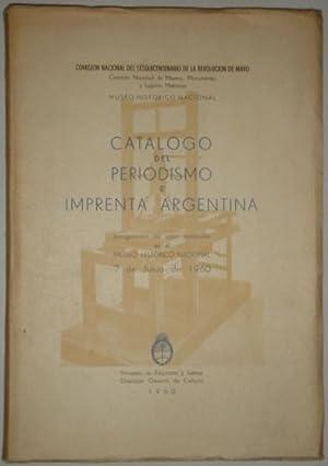 Catalogo del periodismo e imprenta argentina