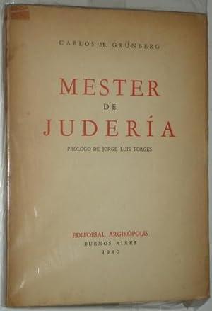 Mester de juderia: Grunberg, Carlos M.