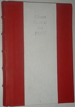 Manual del idioma general del Peru: Mossi, Miguel Angel