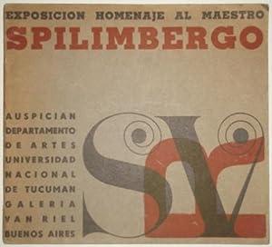 Exposicion homenaje al maestro Lino Enea Spilimbergo