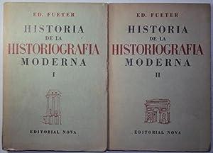 Historia de la historiografia moderna. 2 tomos: Fueter, Ed.