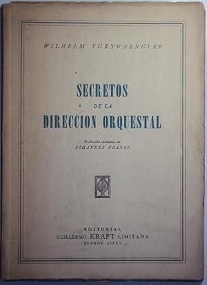 Secretos de la direccion orquestal: Furtwaengler, Wilhem