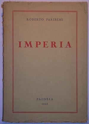 Imperia: Paribeni,Roberto