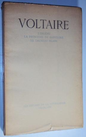 L'ingenu - La princesse de Babylone -: Voltaire