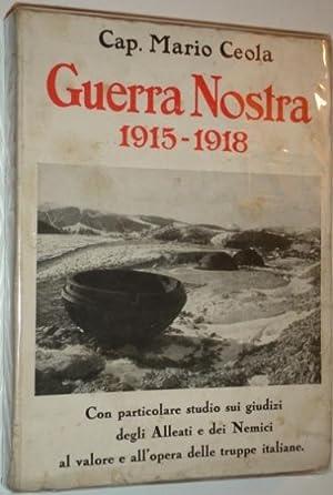 Guerra nostra 1915 1918 da ceola mario cap omero for Marangoni milano costi