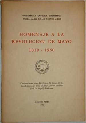 Homenaje a la Revolucion de Mayo 1810-1960