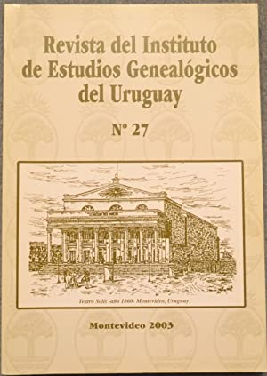Nº 27: Revista del Instituto