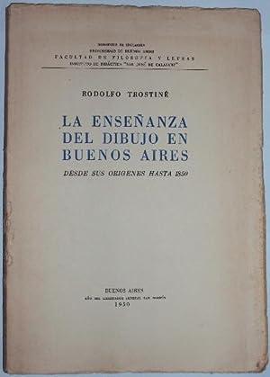 La enseñanza del dibujo en Buenos Aires.: Trostine, Rodolfo