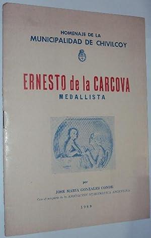 Ernesto de la Carcova. Medallista: Gonzalez Conde, Jose Maria
