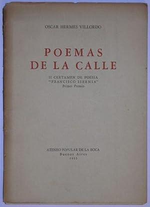 Poemas de la calle: Oscar Hermes Villordo