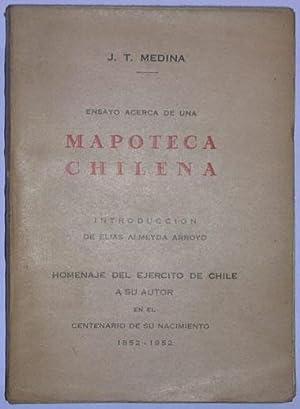 Ensayo acerca de una mapoteca chilena: Medina, J. T.