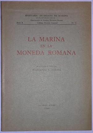 La marina en la moneda romana: Burzio, Humberto F.