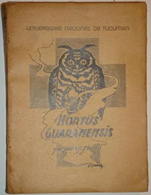 Hortus Guaranensis: Storni, Julio S.