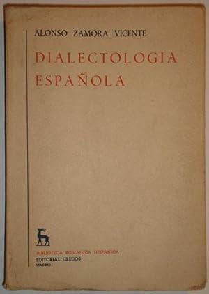 Dialectologia española: Zamora Vicente, Alonso