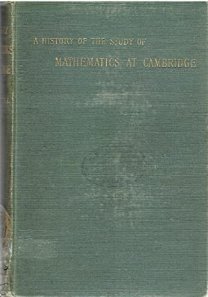 A History of the Study of Mathematics: Ball, W.W. Rouse