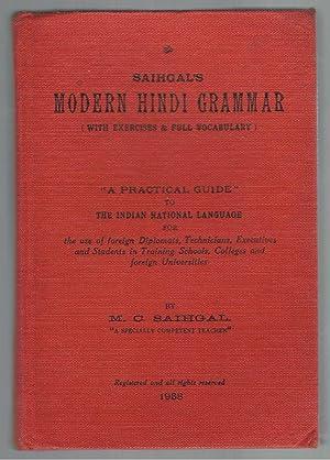 Saihagal's Modern Hindi Grammar (with exercises &: Saihgal, M.C.