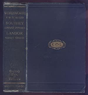 Wordsworth, Southey and Landor - English Men: Myers, F.W.H., Dowden